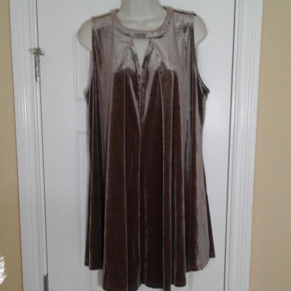Umgee Dresses & Skirts - Umgee Velvet Swing Dress